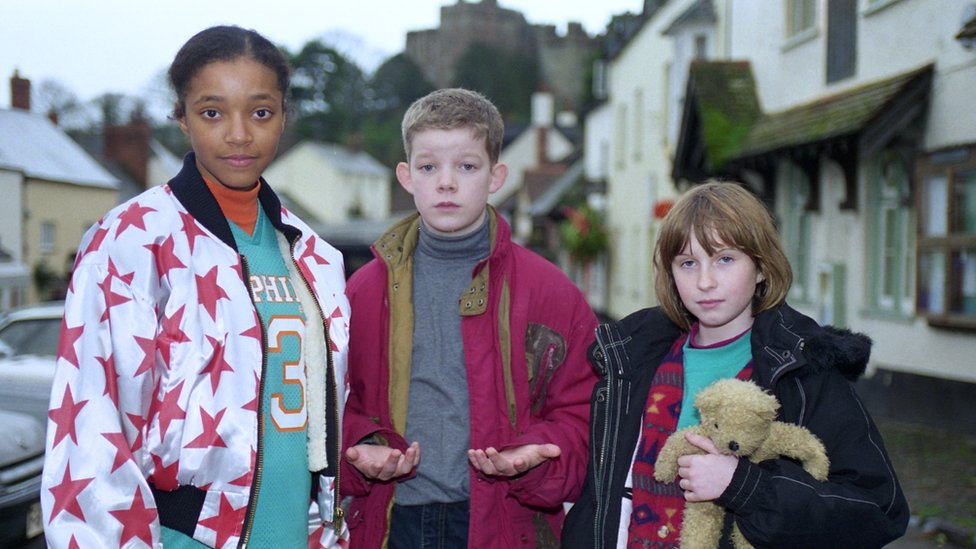 Russell Tovey age 6 in CBBC's Mud.