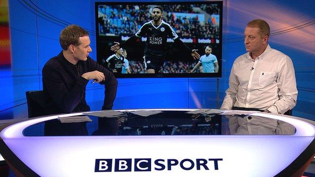 Dan Walker and former Leicester captain Matt Elliott