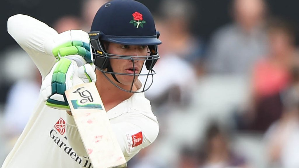 County Championship: Relegated Lancashire end campaign with win over Hampshire