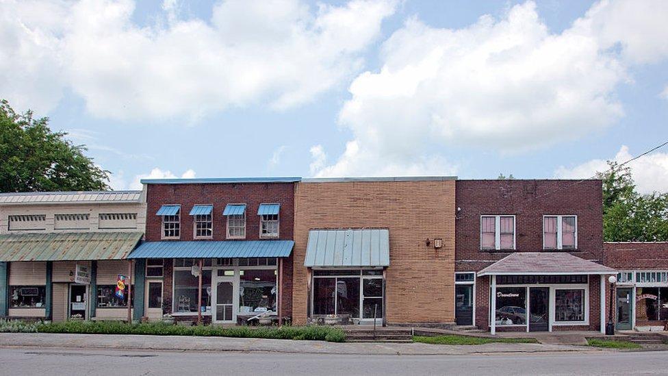 Edificios históricos de Elkmont, Alabama.