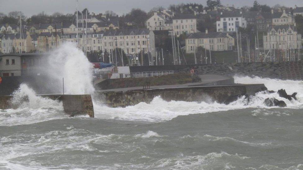 Bangor sea front