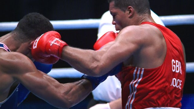 AIBA World Boxing Championships: Britain's Joseph Joyce loses