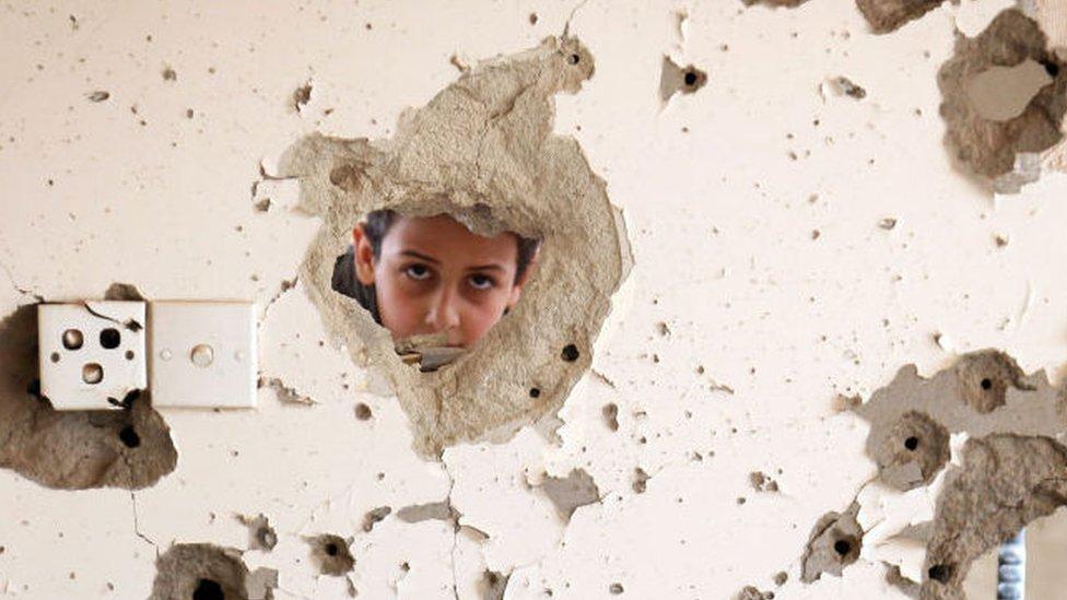 ایک یمنی بچہ