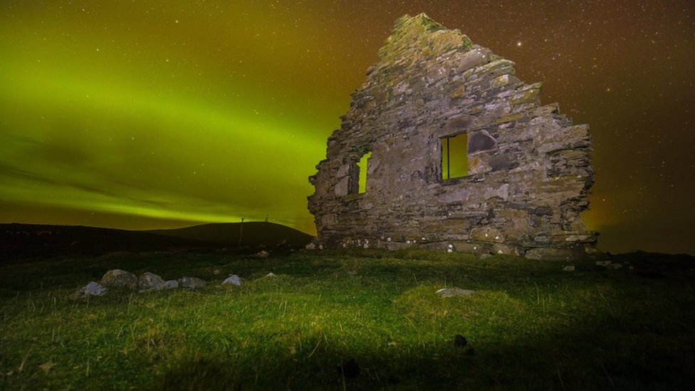 Lights at Dunrossness