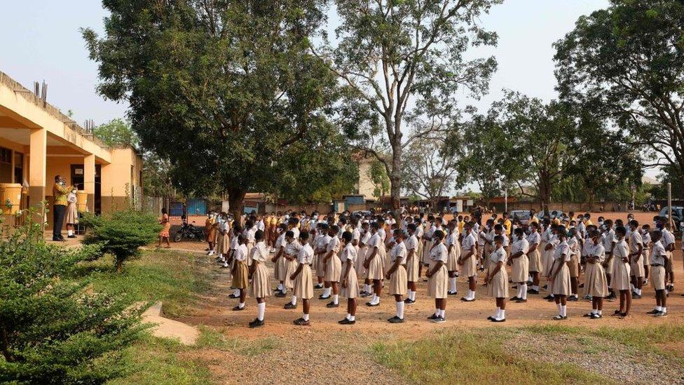 المدارس في غانا