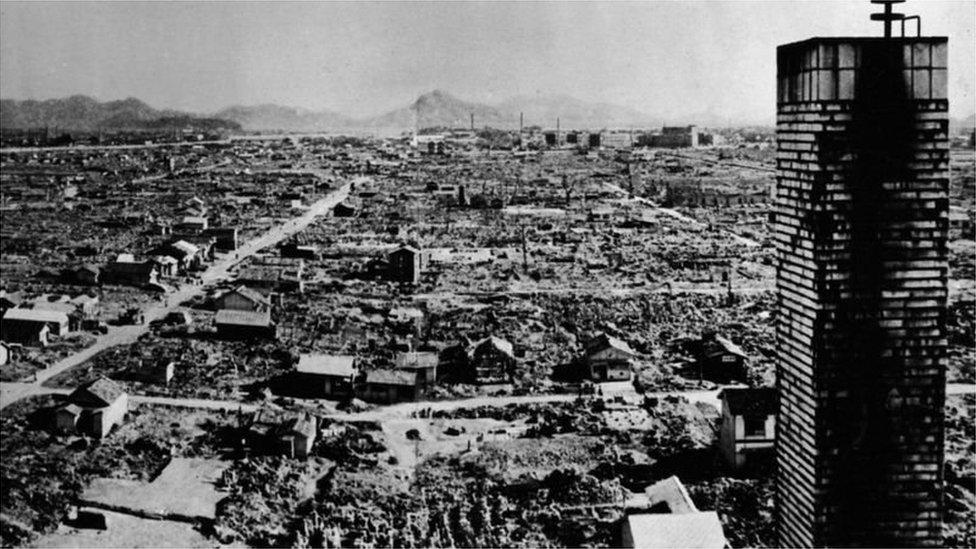 الولايات المتحدة أسقطت القنبلة النووية على هيروشيما عام 1945