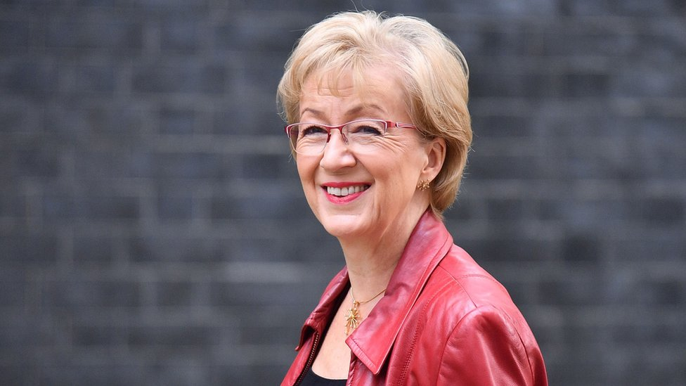 Theresa May faces pressure after Andrea Leadsom resigns