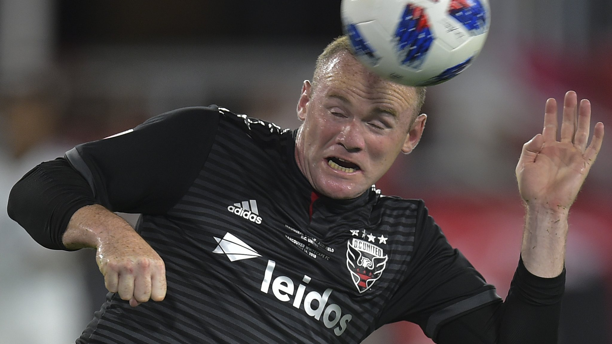 Rooney comes off bench to make winning DC United debut