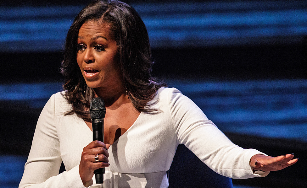 Michelle Obama di Royal Festival Hall