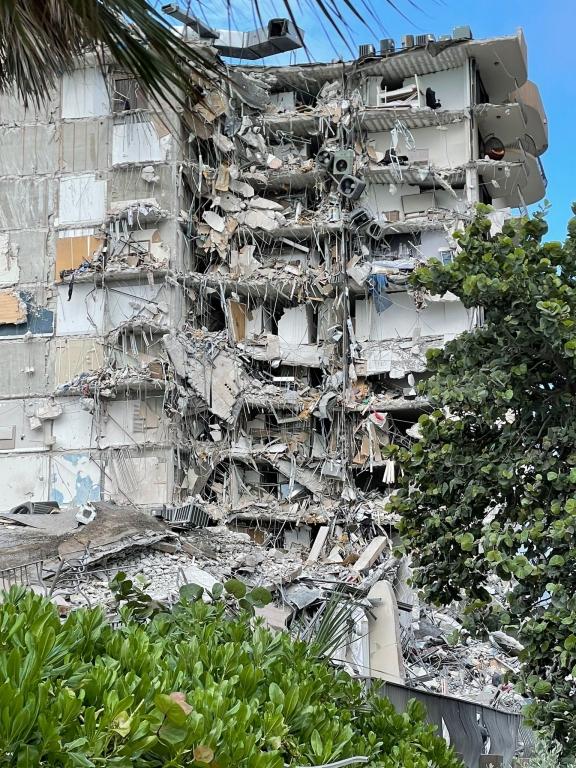 Desastre en el edificio