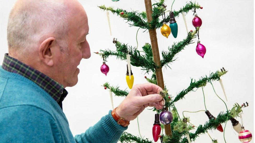Tinsel tales: Decades old Christmas trees and baubles