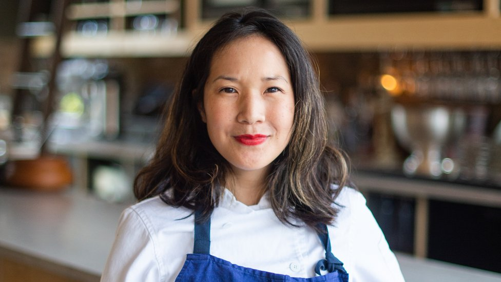 Parachute chef and co-owner Beverly Kim