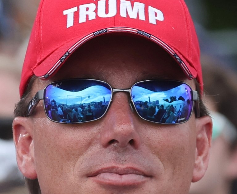 Un seguidor de Trump
