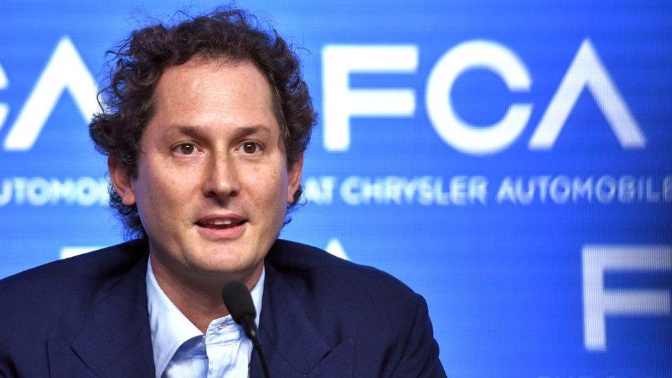 John Elkann es el director de Fiat y del grupo Exor.