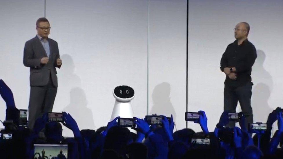 Samsung Bot Care demonstration