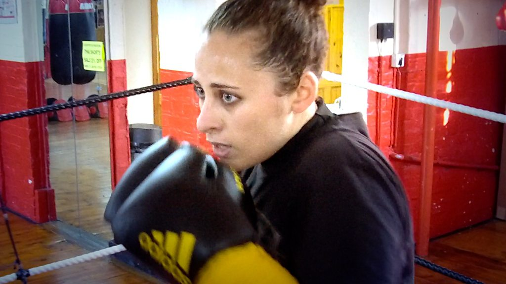 Sex abuse victim Natasha Mina: 'Kickboxing gave me strength'