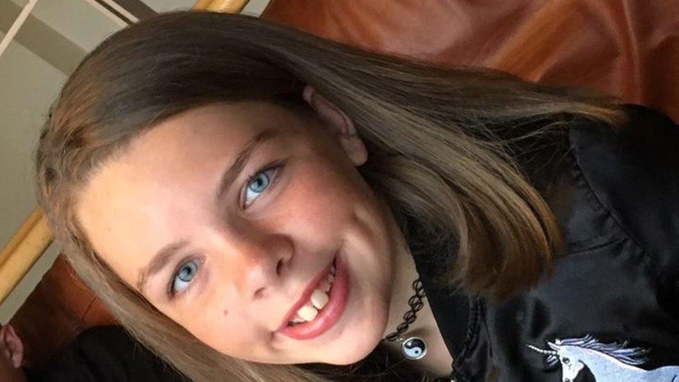 Family tribute to 11-year-old Swindon crash victim