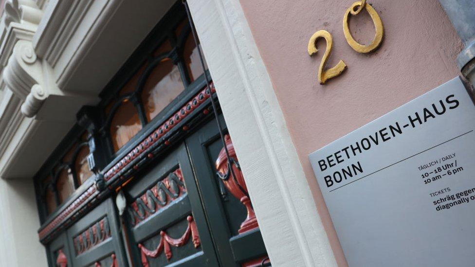 Casa de Beethoven en Bonn.