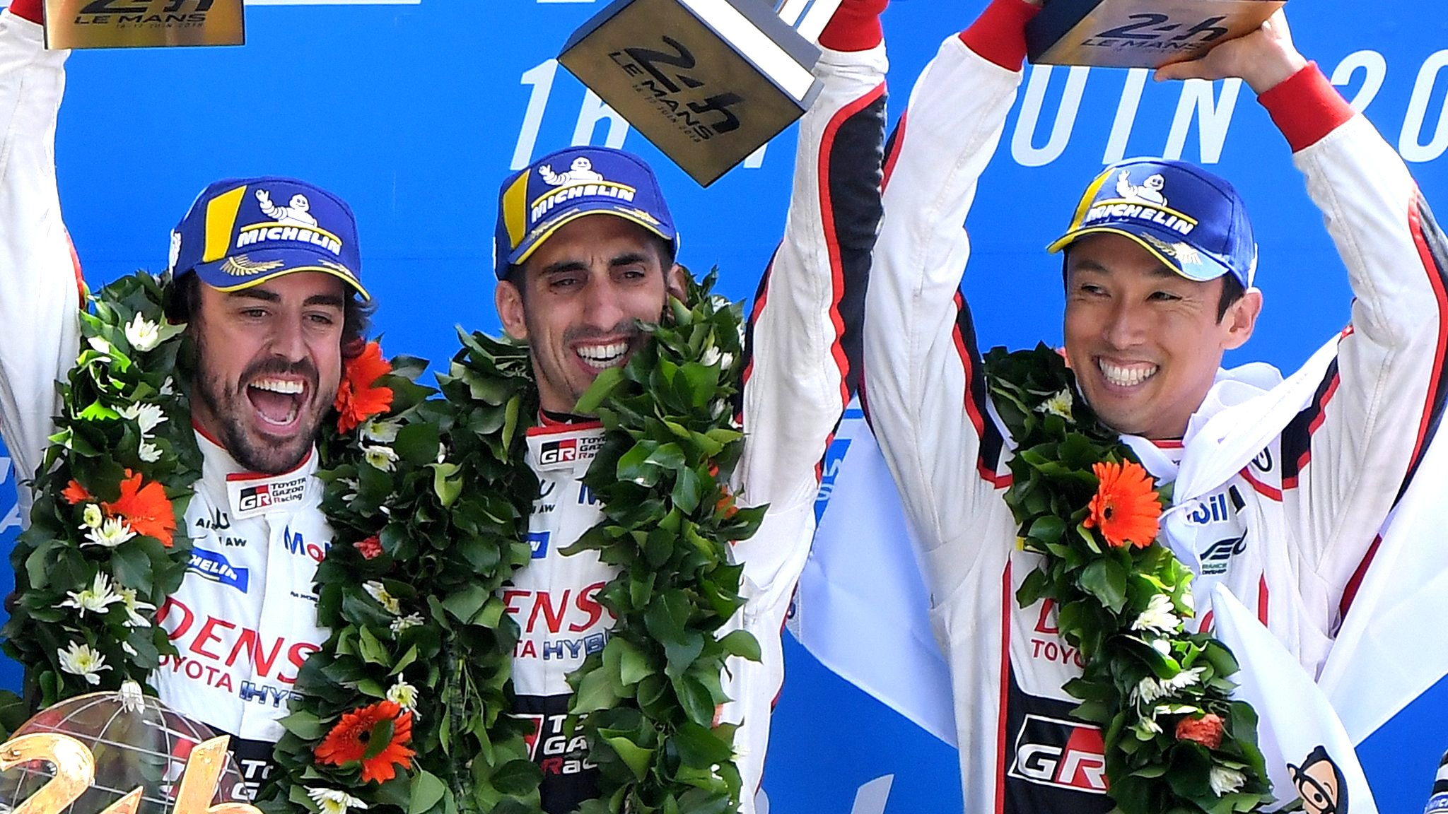 Alonso wins Le Mans 24 Hours for second leg of motorsport's 'triple crown'