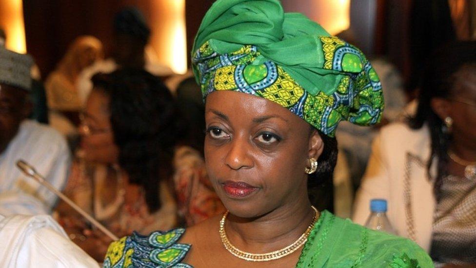Diezani Alison-Madueke in 2010 photo