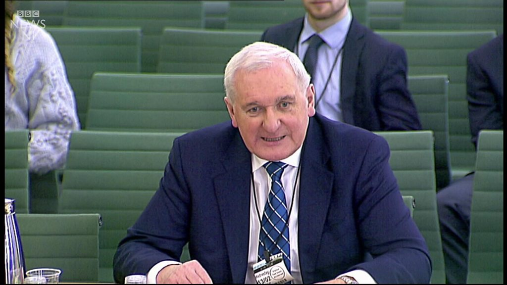 Bertie Ahern believes time not right for border poll