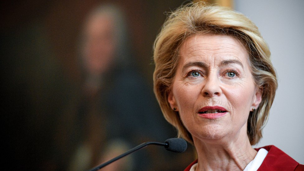 Ursula von der Leyen, la nueva presidenta de la Comisión Europea