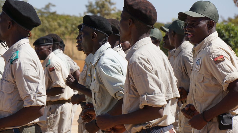Angolan wildlife rangers out in force, June 2016