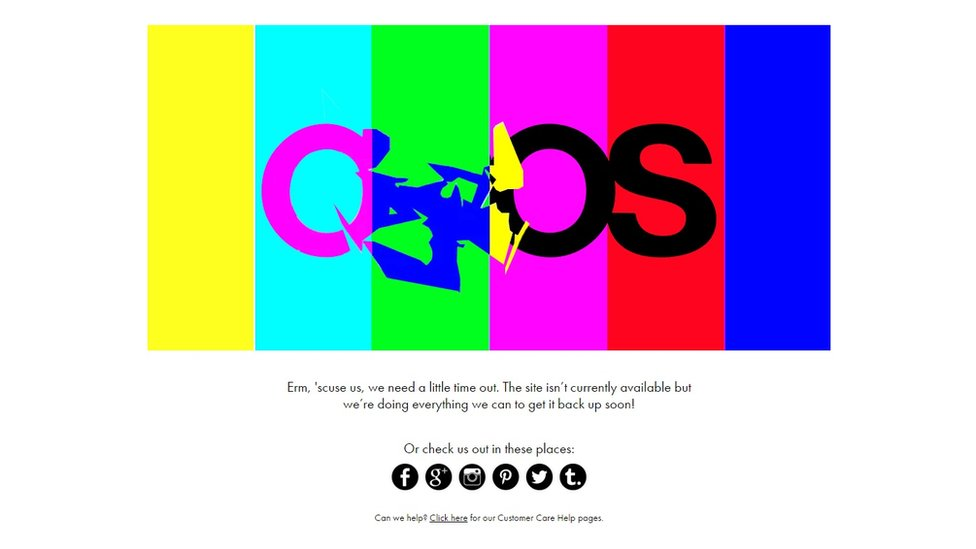 The ASOS error message
