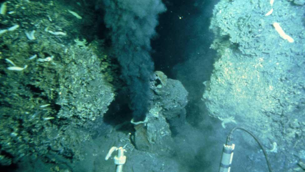 Imagem do fundo oceânico