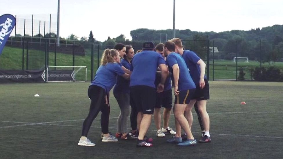 Touch rugby - what are the health, fitness and social benefits for you playing?