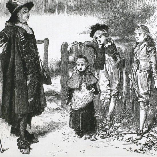 Ilustración llamada 'Christmas under the Commonwealth'