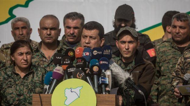 SDG'li Mazlum Kobani, ABD'li ve Rus yetkililerle görüşüyor