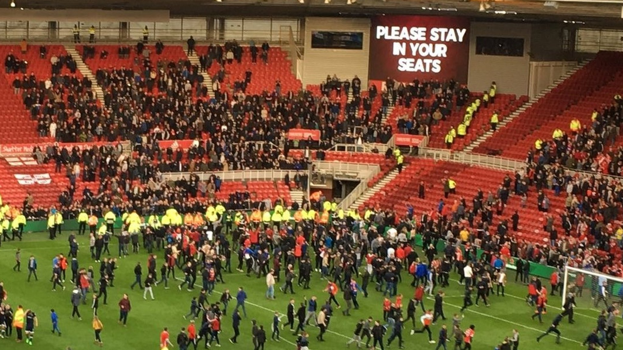Middlesbrough v Millwall trouble: 22 fans identified after investigation