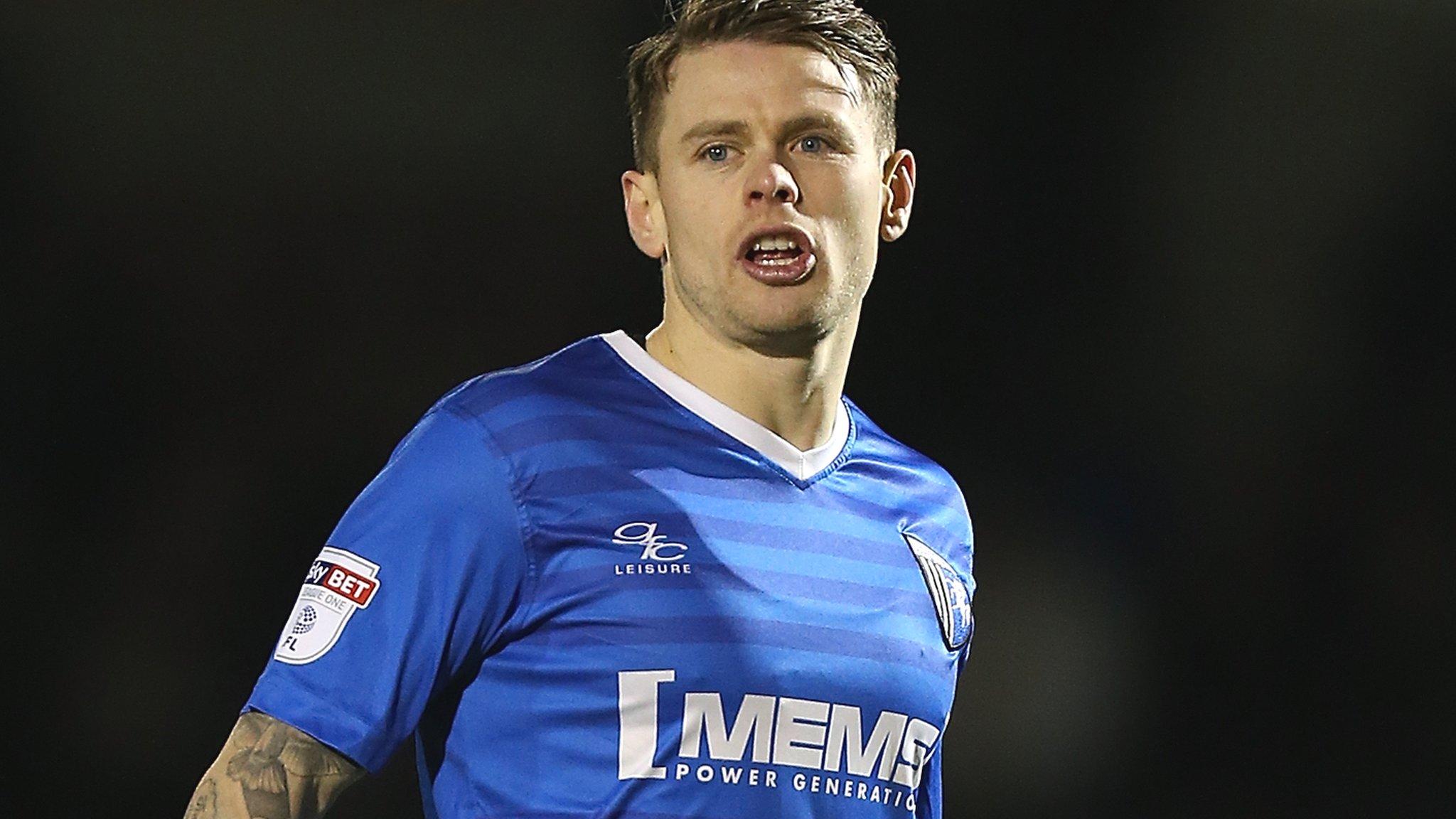 Mark Byrne: Gillingham midfielder signs new two-year deal