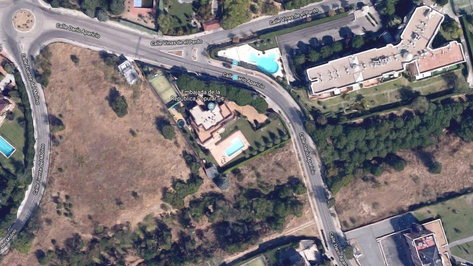 سفارة كوريا الشمالية في مدريد