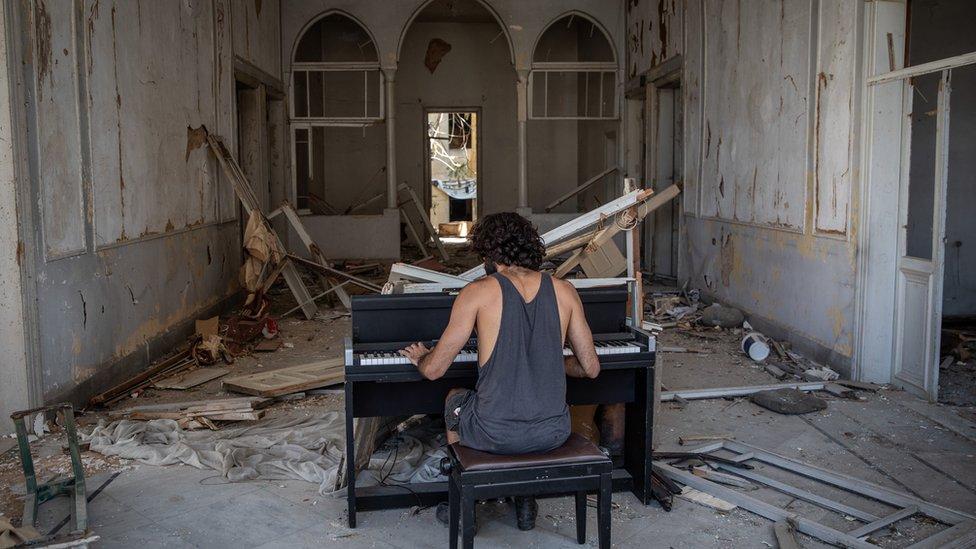 2020, Ledakan Beirut, Lebanon.