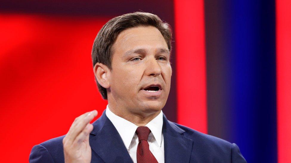 Ron DeSantis, gobernador de Florida