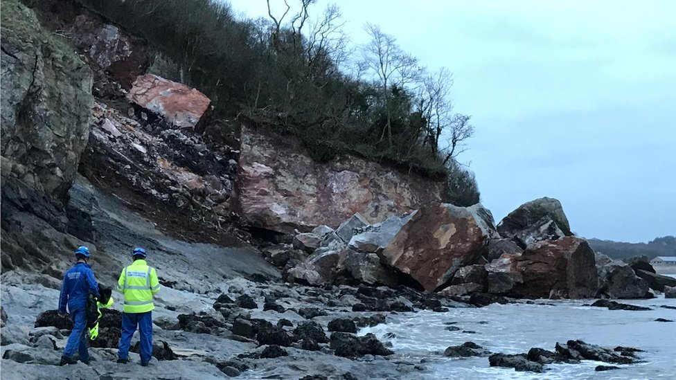 Wales Coast Path: Dangers from erosion and overgrown bushes