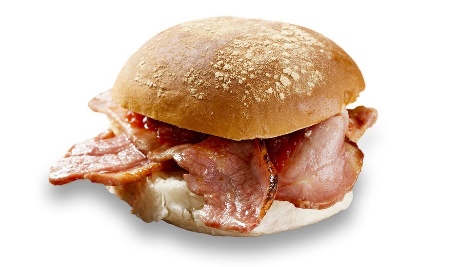 In-flight bacon roll row passenger fined