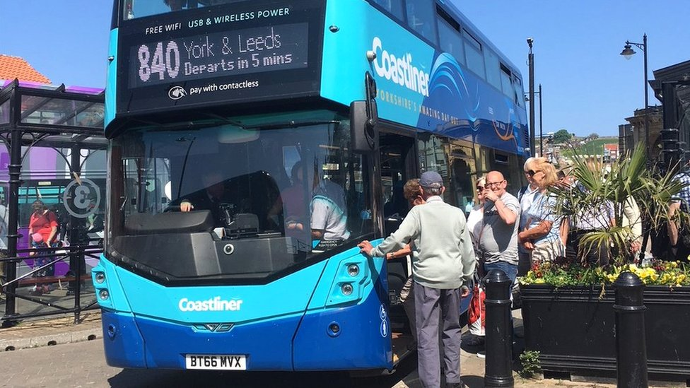 Britain's 'most scenic' bus route revealed