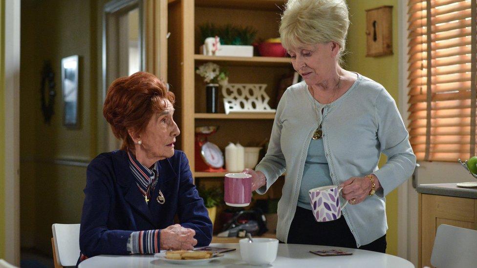 Eastenders and Carry On star Dame Barbara Windsor dies aged 83