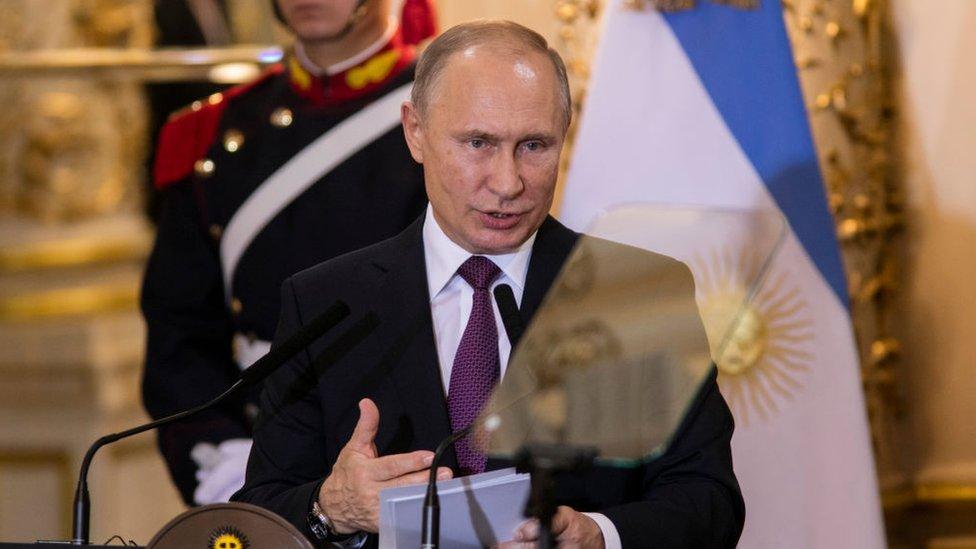 Putin en Argentina