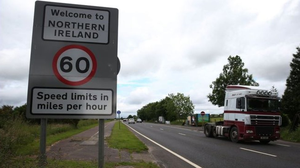 The Irish border