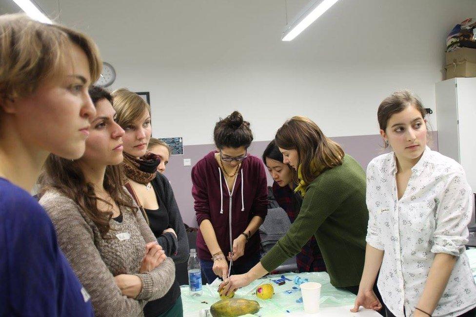 Papaya abortion workshop