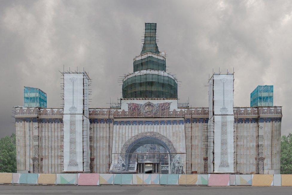 Kunststück por Pegova Olya, Rusia.