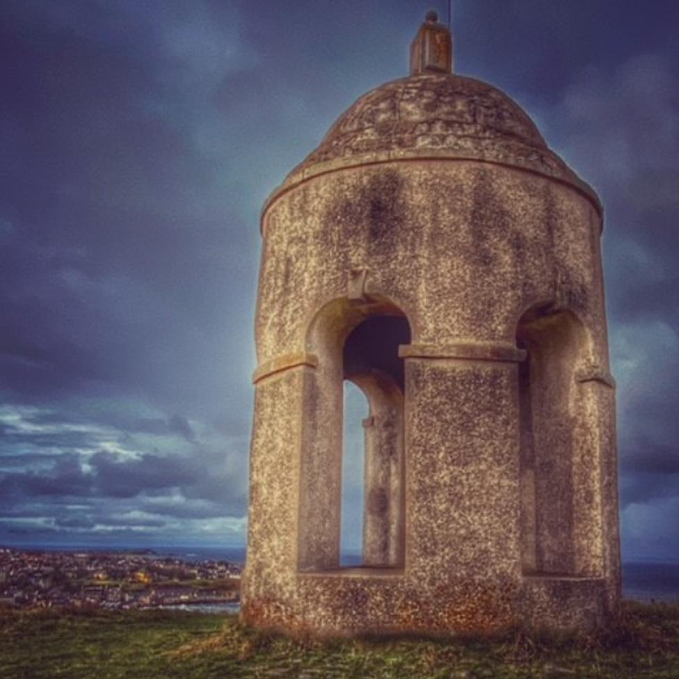Irene Troughton's eerie image of the Temple of Venus in Macduff.