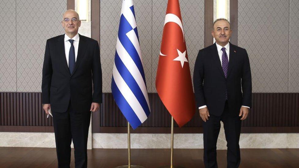 Dendias ve Çavuşoğlu