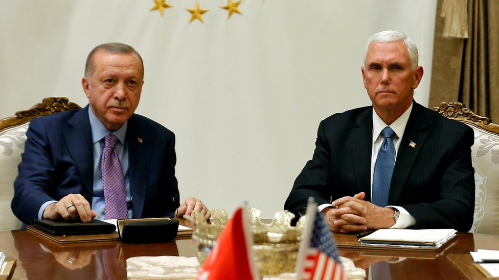 Дайджест: Эрдоган согласился на перемирие и стал для Трампа