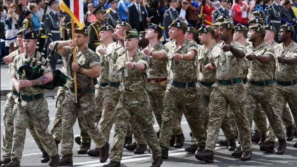 英國的國防預算佔GDP的2.1%-2.85%,在北約成員國中的國防預算僅次於美國