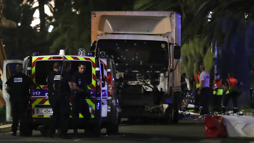 Aftermath of Nice attack